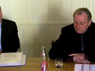 Débat entre Léon Gendre et Patrice Raffarin - Négociation ou pas entre les deux tours