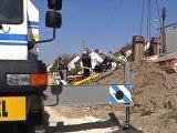 Grave accident de chantier à Pont-Sainte-Marie