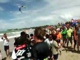 Kiteboarding World Tour - PKRA Cabarete 2010 - Day 4