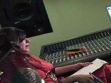 Alka Yagnik At Song Recording