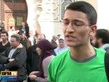 Manifestations contre le débat sur la laïcité