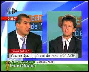 les échos de l'eco Itélé Yacine Djaziri Espoir du Management 2010