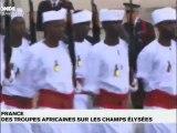 TV5 telejournal - 13 armees africaines aux Champs Elysees pour le 14 juillet