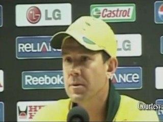 """AUSTRALIA RUSTY against Kenya at Cricket World Cup 2011"" Ricky Ponting"