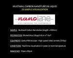 Sarfus video of brownian motion of multi-wall carbon nanotubes