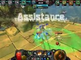CRASHER extrait de gameplay, map Pok-Ta-Pok, mode CTC 5v5