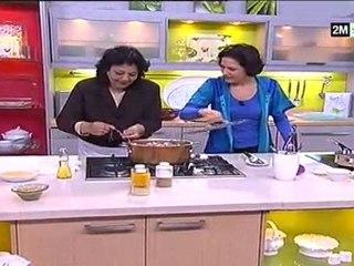 Choumicha recettes - galantine de poulet au amandes, biscuit sablé