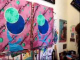 Davis-Dutreix painting street posters