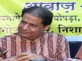 Anup Jalota speaking abt new gen music at music release of SAI KI MAHIFIL  07 part 3