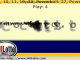 Powerball Lottery Drawing Results for March 26, 2011