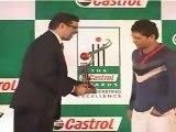 Sachin Tendulkar Gets Batsman Of The Year Award At Castrol Awards 2011