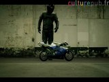 Easy Rider on a pocket bike / Yamaha