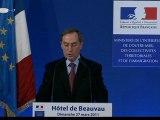 2nd tour des élections cantonales 2011 : intervention de Claude GUÉANT