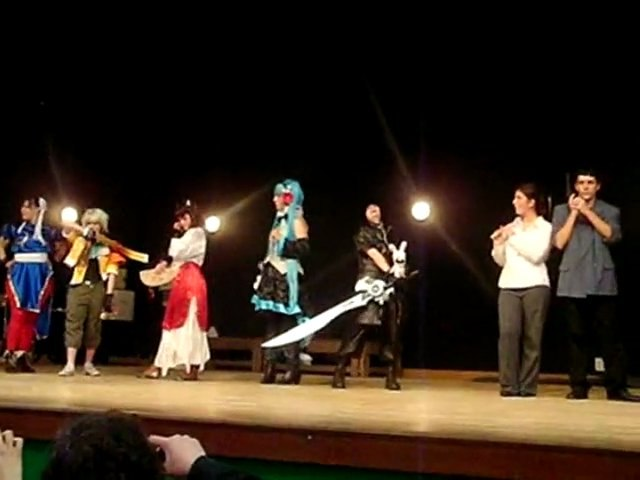 Défilé cosplay Jap'and Tregor 2011