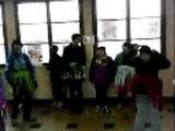 danse africaine avec 2 de mes pots