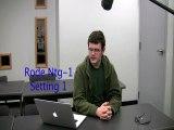 Boom Mic Test  Rode Video mic vs Rode NTG-1 vs Azden SGM-2x