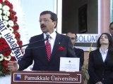 PAÜ BİYOM (Bitki Genetiği ve Tarımsal Biyoteknoloji Uygulama ve Araştırma Merkezi) törenle açıldı