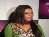 Sexy Rakhi Sawant Looks Hot in Green Churidaar At 'Maa Exchange' Show