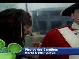 Pirates de Caraïbes, La Malédiction du Black Pearl - Mardi 5 avril à 20h25 sur Disney Channel