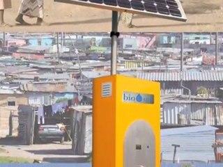 Chronique RTL2 sur la borne de production d'eau potable photovoltaïque BIO-SUN