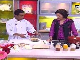 pastilla fruits de mer et pastilla poulet choumicha 2011 recettes de cuisine marocaine familiales faciles. Recette Pastilla au poulet
