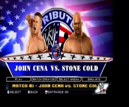 SvR2011 (Wii) - John Cena vs. Stone Cold Steve Austin