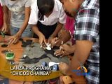 Programa Chicos Chamba busca reducir la delincuencia entre los jovenes