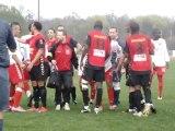 Football, division honneur: Fin houleuse du match Clermont-Creil
