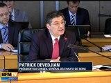 Devedjian réélu président des Hauts-de-Seine