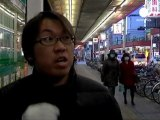 Fukushima, ville morose le jour, ville fantôme la nuit