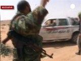Guerra di Libia, euronews dal fronte di Brega