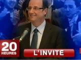 François Hollande invité du Journal de 20 heures de France 2