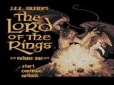 Test du Seigneur des Anneaux ( Snes ) The lord of the rings JRR tokien vol 1
