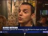 Cantonales : les électeurs ont reconduit l'écologiste Olivier Bertrand