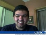 Message to AIESEC RECIFE from Amine