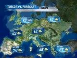 European Vacation Forecast - 04/02/2011
