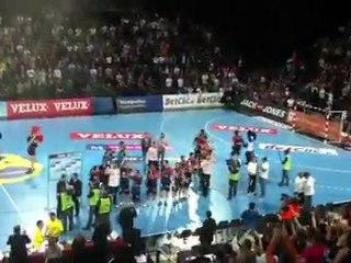 Qualification de Montpellier en 1/4 de finale de la Ligue des Champions !
