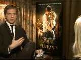 Robert Pattinson, Christoph Waltz and Reese Witherspoon Interviews for WATER FOR ELEPHANTS