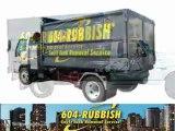 604 Rubbish - Junk Removal Company, Rubbish Removal Company