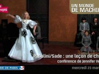 Pasolini / Sade : une leçon de chose
