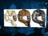Goalie Helmets Painted like the Pros