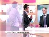 Les français et le sport : Vincent Chriqui sur France 5
