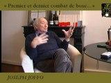 Joseph Joffo et la boxe (Un Sac de billes, adaptation en bande dessinée, éditions Futuropolis)