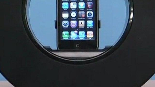 Review: Caixa de Som Giratória Integris, dock para iPod e iPhone