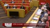 LE 22H,Serge Moati, Jacques Gautier et Olivier De Lagarde