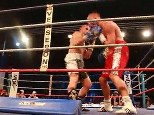 Extrait du Combat de Boxe de Cédric Vitu le 4 mars 2011 à Creil