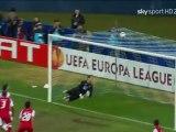 ディナモ・キエフ 対 スポルディング・ブラガ ヨーロッパリーグ '10-11 ベスト8