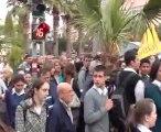 Akhisar'da YGS Sınavı Protesto Edildi