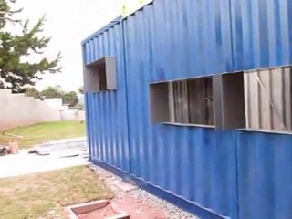 Casa container se destaca pelo inusitado