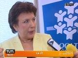 Roselyne Bachelot en lutte contre la fraude (Lyon)
